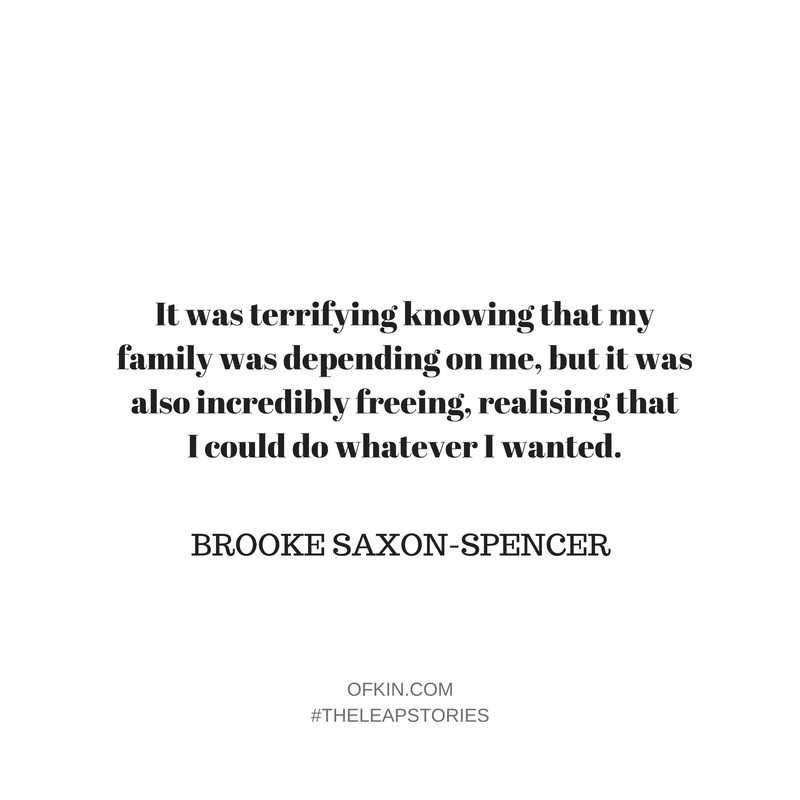 Brooke Saxon-Spencer Quote 3
