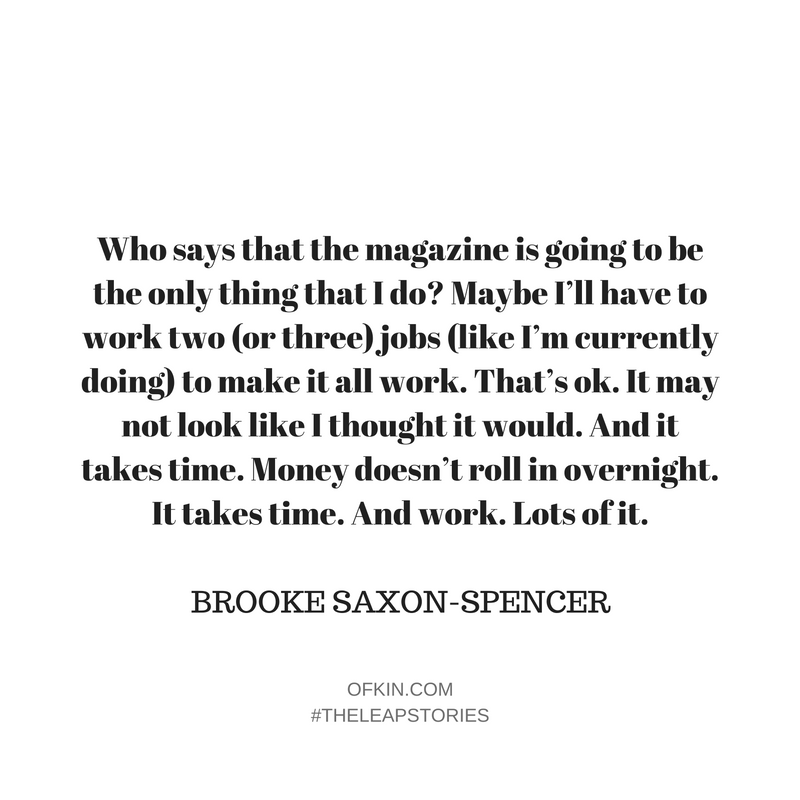 Brooke Saxon-Spencer Quote 7