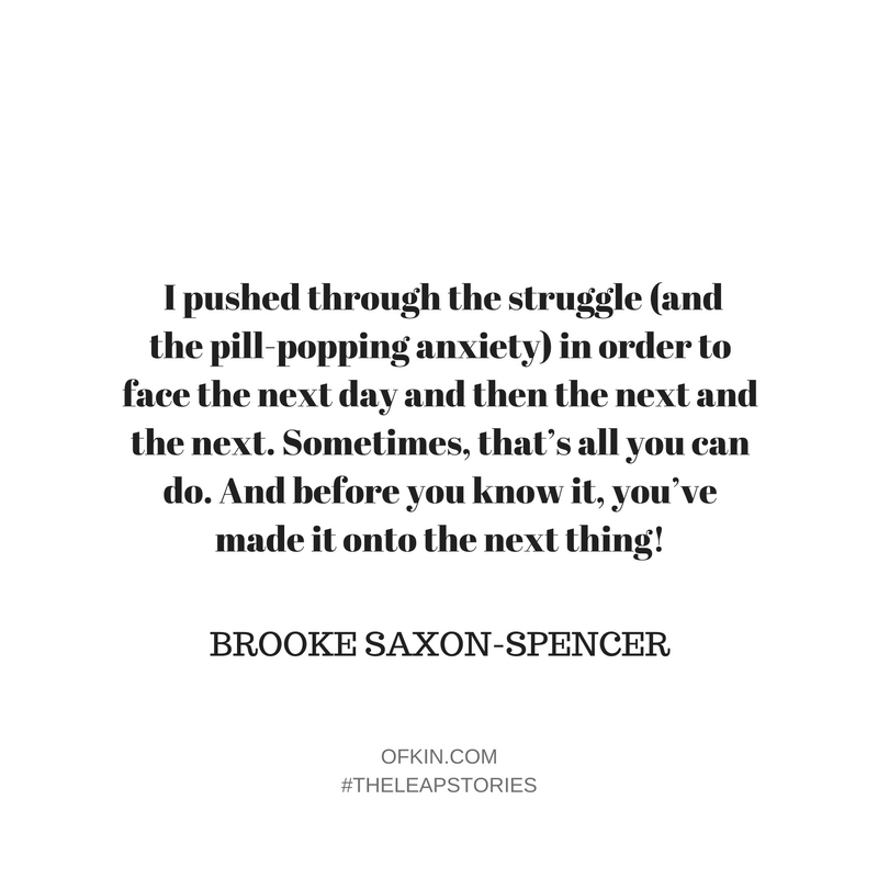 Brooke Saxon-Spencer Quote 8