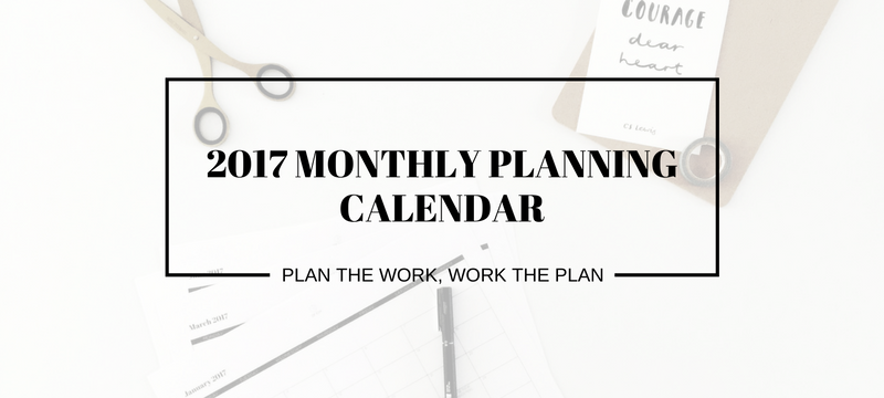 2017-monthly-planning-calendar free downloadable