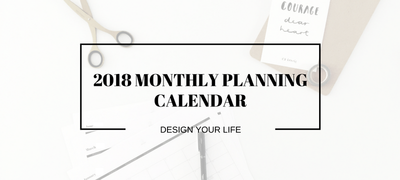 free download 201819 monthly planning calendar key dates