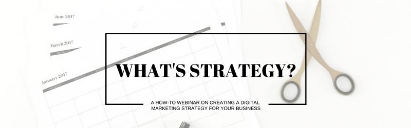 Of Kin What's Strategy free webinar