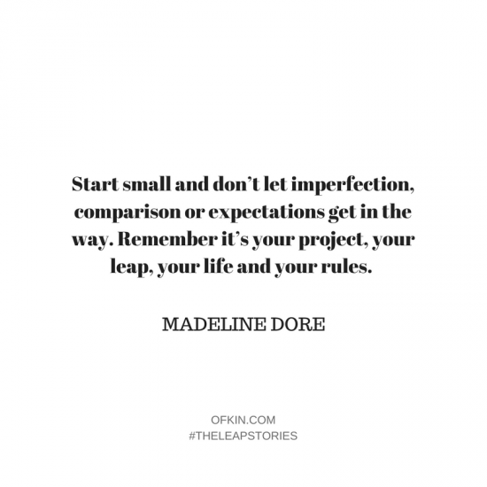 Madeleine Dore Extraordinary Routines