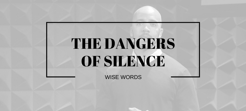 Clint Smith TEDTalk The Dangers of Silence