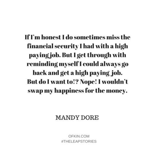 Mandy Dore The Leap Stories Of Kin5