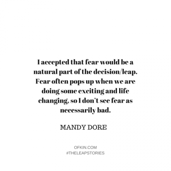 Mandy Dore The Leap Stories Of Kin8