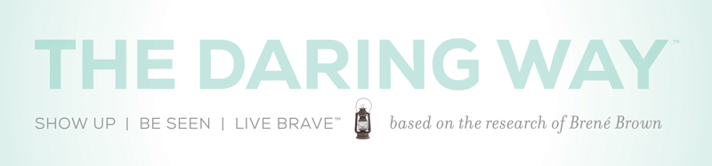 Daring Way by Brené Brown banner
