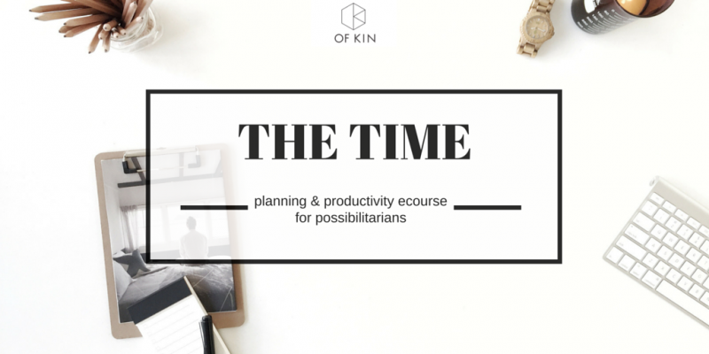 Time management productivity coaching ecourse