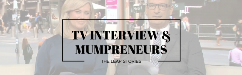 Channel 7 Sunrise Leap Mumpreneur Interview Kylie Lewis Of Kin