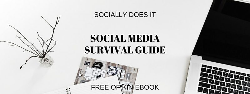 Free Social Media Survival Guide ebook by Of Kin talking about digital marketing tips and advice