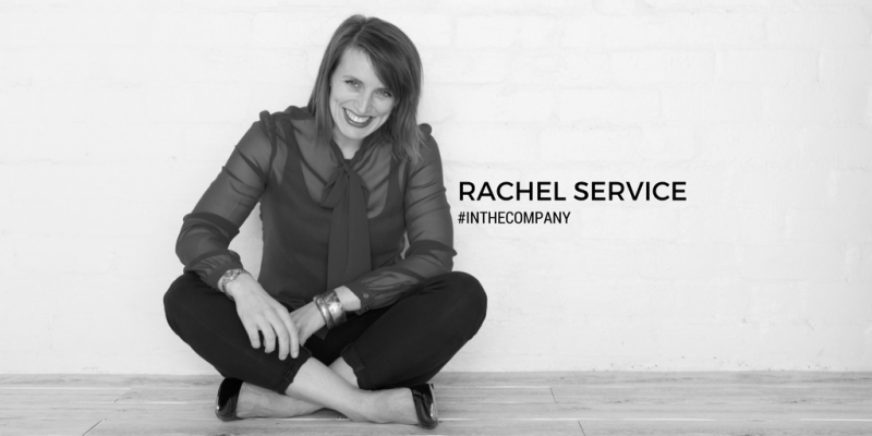 rachel service in the company podcast