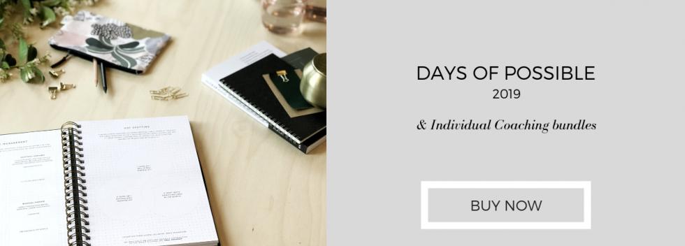 2019 Diary & Individual Coaching