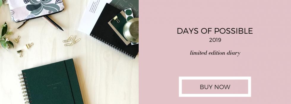 2019 Diary designer planner