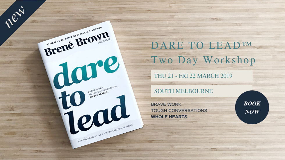 Dare To Lead Workshop Melbourne with Kylie Lewis