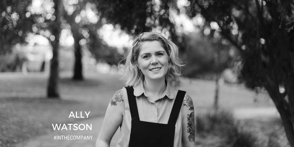 Ally Watson Code Like A Code Small Business Festival In The Company Podcast