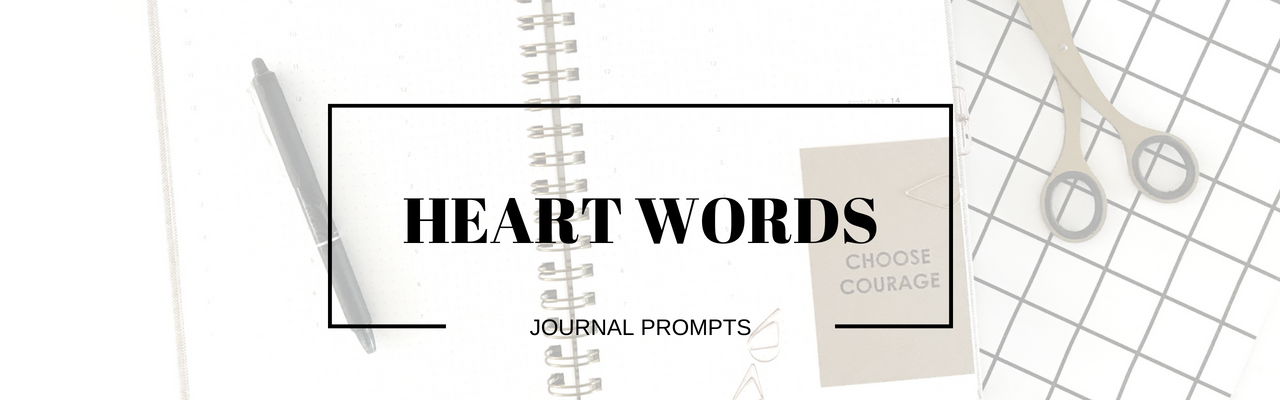 Courage journal prompts