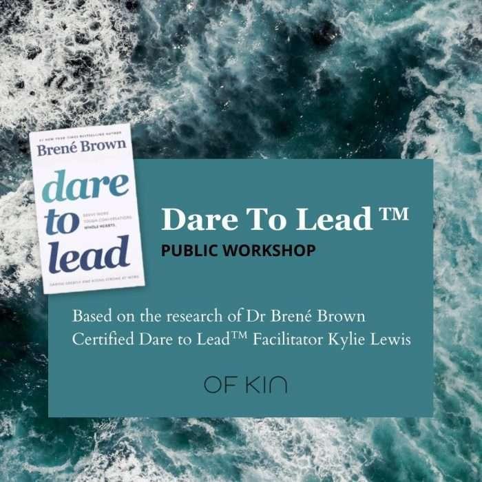 brene brown dare to lead workshop