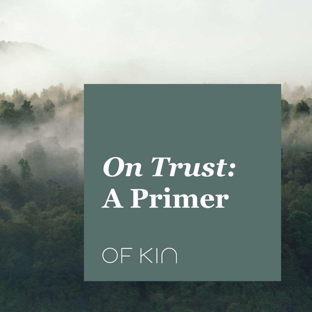On Trust A Primer
