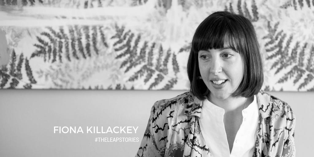 The Leap Stories Fiona Killackey Header